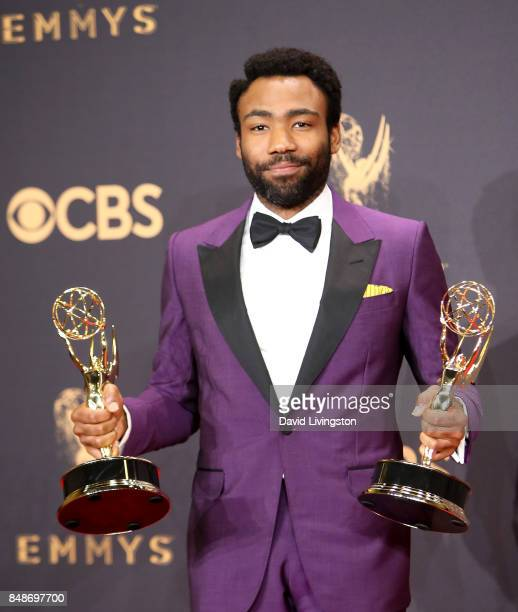 Actor/producer Donald Glover winner of the awards for Outstanding Lead Actor in a Comedy Series and Outstanding Directing for a Comedy Series for...