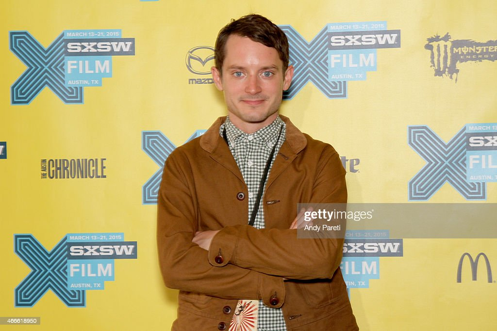 Actor/producer Elijah Wood attends the premiere of 'Made In Japan' during the 2015 SXSW Music Film Interactive Festival at Stateside Theater on March...
