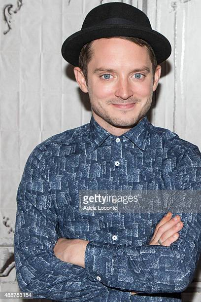 Actor/Producer Elijah Wood discuss their horror/comedy 'Cooties at AOL Studios In New York on September 17 2015 in New York City