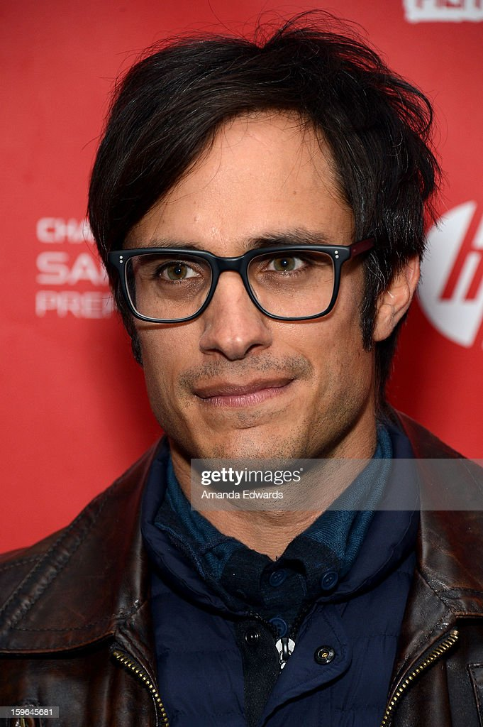 Actor/producer <a gi-track='captionPersonalityLinkClicked' href=/galleries/search?phrase=Gael+Garcia+Bernal&family=editorial&specificpeople=202025 ng-click='$event.stopPropagation()'>Gael Garcia Bernal</a> attends the 'Who Is Dayani' premiere during the 2013 Sundance Film Festival at The Marc Theatre on January 17, 2013 in Park City, Utah.