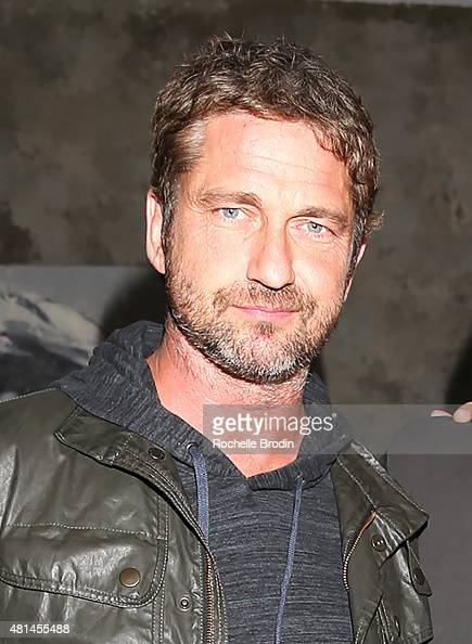 Actor/producer Gerard Butler attends the Paolo Troilo 'The Substance of Ideas' art exhibition at NuSpace on July 18 2015 in Los Angeles California