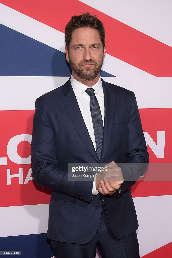 Actor/producer <a gi-track='captionPersonalityLinkClicked' href=/galleries/search?phrase=Gerard+Butler+-+Actor&family=editorial&specificpeople=202258 ng-click='$event.stopPropagation()'>Gerard Butler</a> attends the premiere of Focus Features' 'London Has Fallen' at ArcLight Cinemas Cinerama Dome on March 1, 2016 in Hollywood, California.
