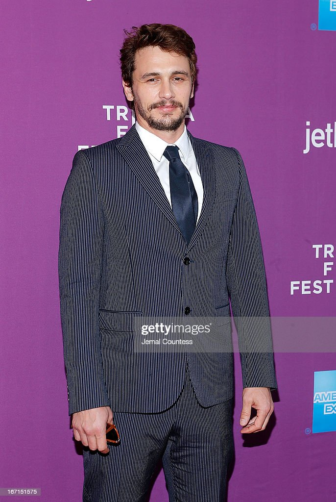 Actor/producer <a gi-track='captionPersonalityLinkClicked' href=/galleries/search?phrase=James+Franco&family=editorial&specificpeople=577480 ng-click='$event.stopPropagation()'>James Franco</a> attends 'The Director' World Premiere during the 2013 Tribeca Film Festival on April 21, 2013 in New York City.
