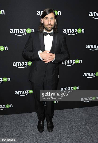 Actor/producer Jason Schwartzman attends Amazon Studios Golden Globe Awards Party at The Beverly Hilton Hotel on January 10 2016 in Beverly Hills...