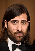 Actor/producer Jason Schwartzman winner of the award for Best Television Series Musical or Comedy for 'Mozart in the Jungle' poses in the press room...