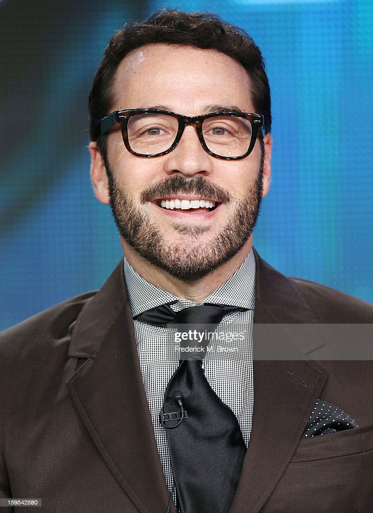 Actor/producer Jeremy Piven of the television show 'Mr. Selfridge' speaks during the PBS portion of the 2013 Winter Television Critics Association Press Tour at the Langham Huntington Hotel & Spa on January 15, 2013 in Pasadena, California.