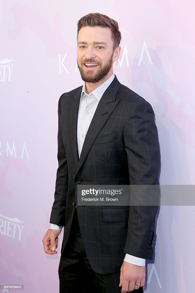 Actor/producer Justin Timberlake attends Variety's Celebratory Brunch Event For Awards Nominees, benefitting Motion Picture Television Fund, at Cecconi's on January 28, 2017 in West Hollywood, California.
