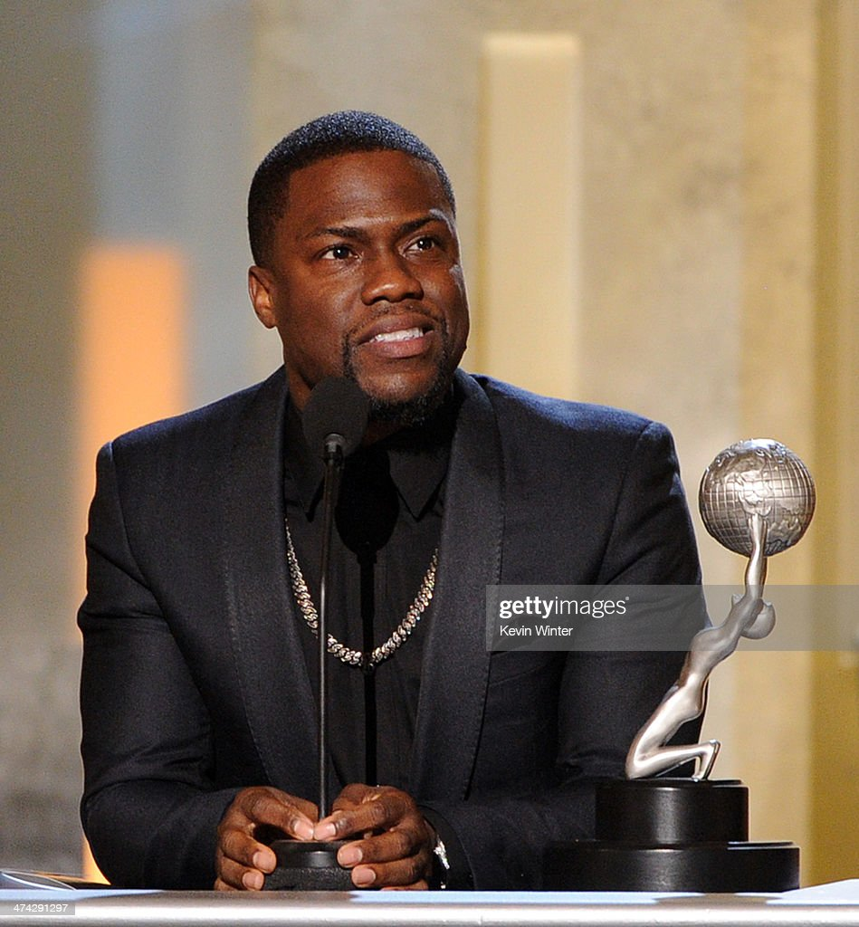 Actor/producer <a gi-track='captionPersonalityLinkClicked' href=/galleries/search?phrase=Kevin+Hart+-+Actor&family=editorial&specificpeople=4538838 ng-click='$event.stopPropagation()'>Kevin Hart</a> accepts the Entertainer of the Year award onstage during the 45th NAACP Image Awards presented by TV One at Pasadena Civic Auditorium on February 22, 2014 in Pasadena, California.