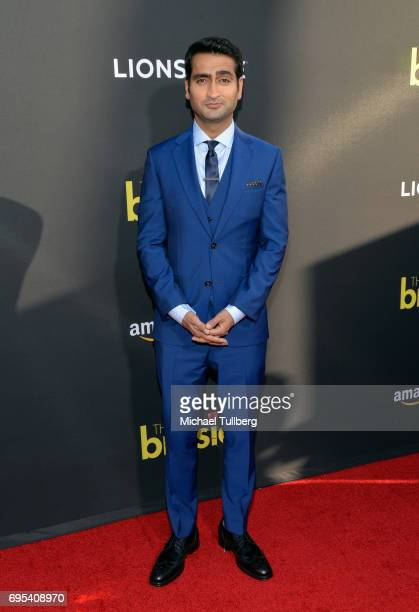 Actor/Producer Kumail Nanjiani attends the premiere of Amazon Studios and Lionsgate's 'The Big Sick' at ArcLight Hollywood on June 12 2017 in...