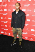 Actor/Producer Michael B Jordan attends the 'Fruitvale' premiere at The Marc Theatre during the 2013 Sundance Film Festival on January 19 2013 in...