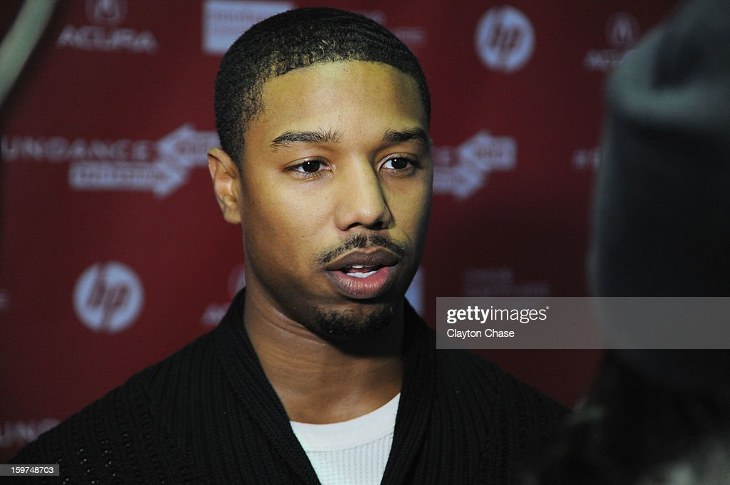 Actor/Producer Michael B. Jordan attends the 'Fruitvale' premiere at The Marc Theatre during the 2013 Sundance Film Festival on January 19, 2013 in Park City, Utah.