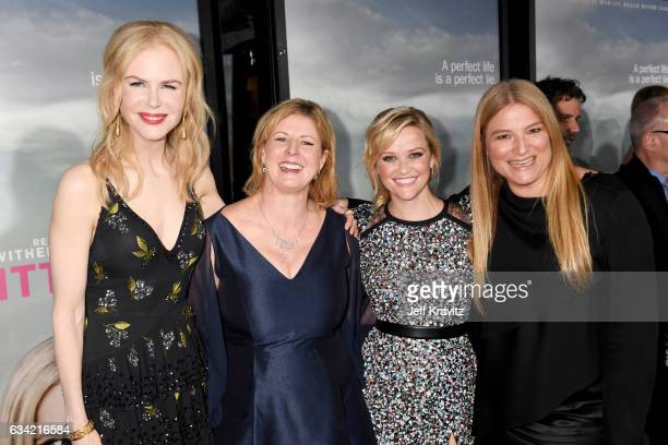 Actor/producer Nicole Kidman author Liane Moriarty actor/producer Reese Witherspoon and producer Bruna Papandrea attend the after party of HBO's 'Big...