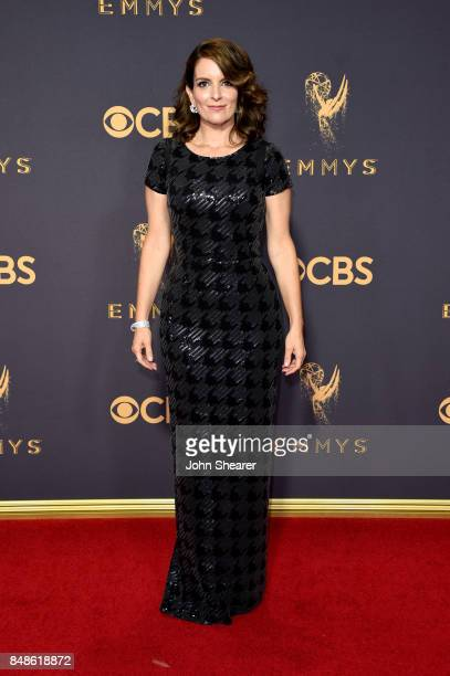 Actorproducer Tina Fey attends the 69th Annual Primetime Emmy Awards at Microsoft Theater on September 17 2017 in Los Angeles California