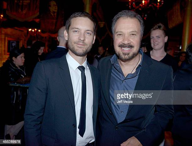 Actor/producer Tobey Maguire and Director Edward Zwick attend the 'Pawn Sacrifice' world premiere party during the 2014 Toronto International Film...