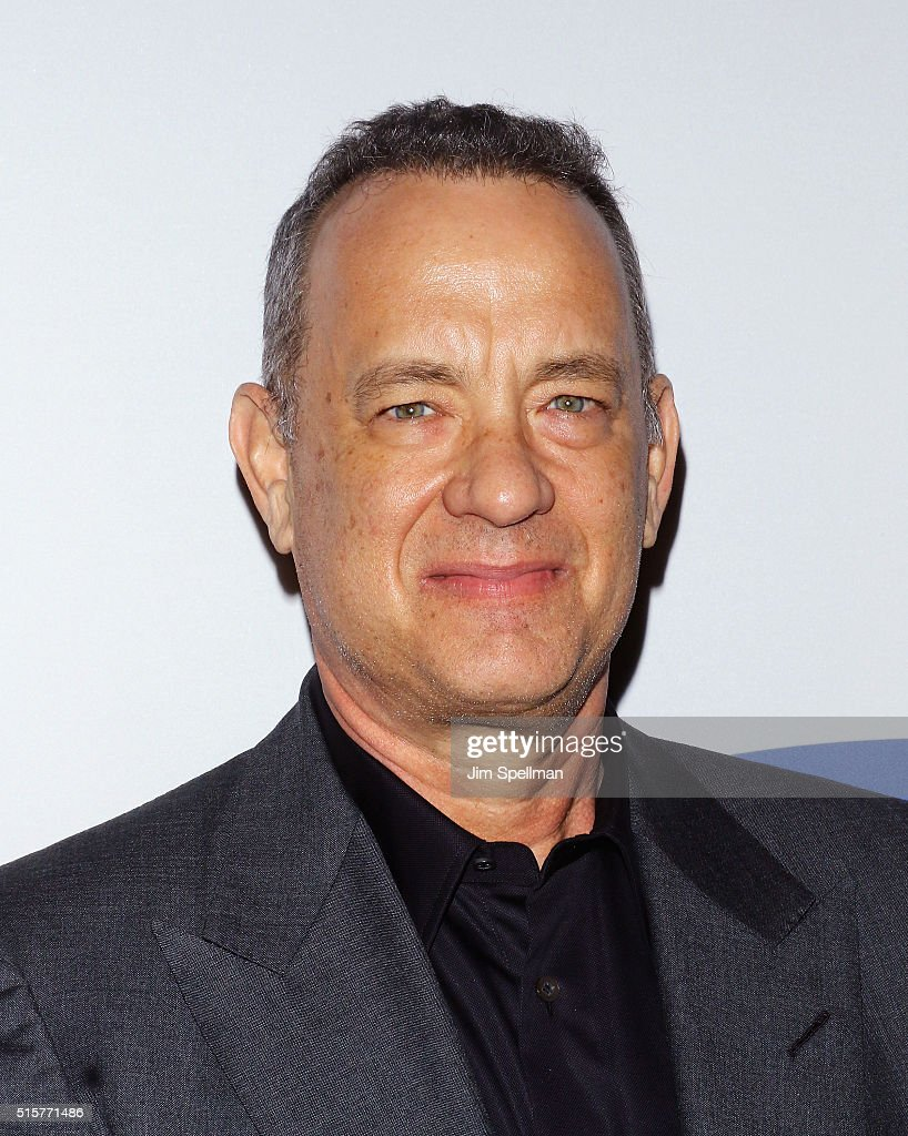 Actor/producer <a gi-track='captionPersonalityLinkClicked' href=/galleries/search?phrase=Tom+Hanks&family=editorial&specificpeople=201790 ng-click='$event.stopPropagation()'>Tom Hanks</a> attends the 'My Big Fat Greek Wedding 2' New York premiere at AMC Loews Lincoln Square 13 theater on March 15, 2016 in New York City.