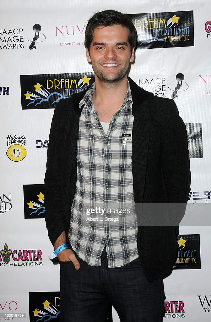 Actor/publicist Ben Decker arrives for the NAACP Image Awards Nomination Party featuring 'Woman Thou Art Loosed On THe 7th Day' for Best Independent Motion Picture held at Smoke on January 26, 2013 in West Hollywood, California.