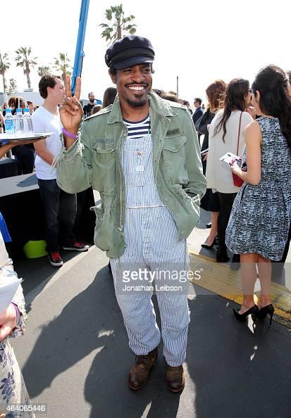 Actor/rapper Andre Benjamin attends the 2015 Film Independent Spirit Awards at Santa Monica Beach on February 21 2015 in Santa Monica California