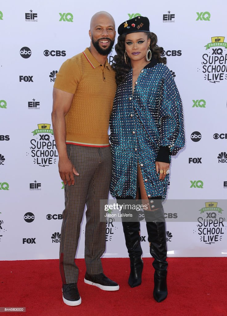 Actor/rapper Common and singer Andra Day attend XQ Super School Live at The Barker Hanger on September 8, 2017 in Santa Monica, California.