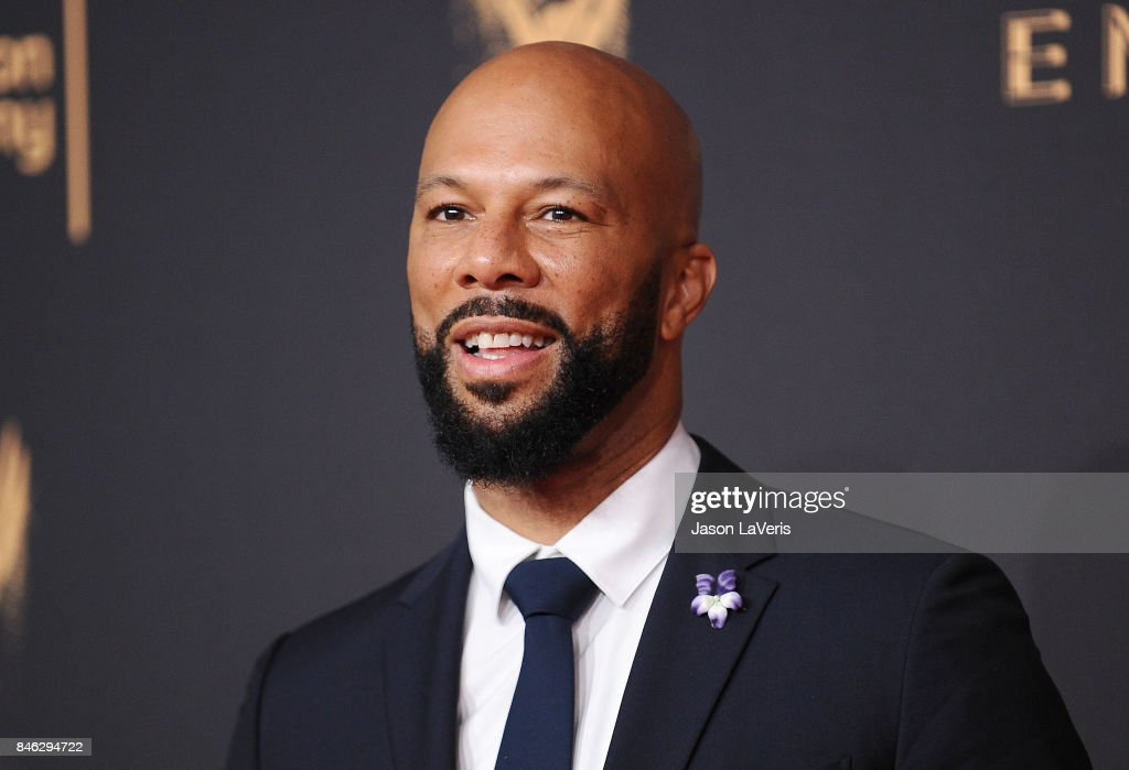 Actor/rapper Common attends the 2017 Creative Arts Emmy Awards at Microsoft Theater on September 9, 2017 in Los Angeles, California.