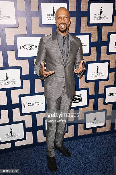 Actor/rapper Common attends the 8th annual ESSENCE Black Women In Hollywood luncheon at the Beverly Wilshire Four Seasons Hotel on February 19 2015...