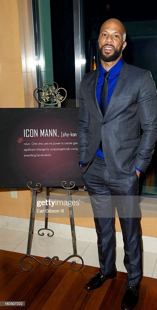 Actor/Rapper Common attends the ICON MANN Pre-Oscar Power 30 Dinner at L'Ermitage Beverly Hills Hotel on February 23, 2013 in Beverly Hills, California.