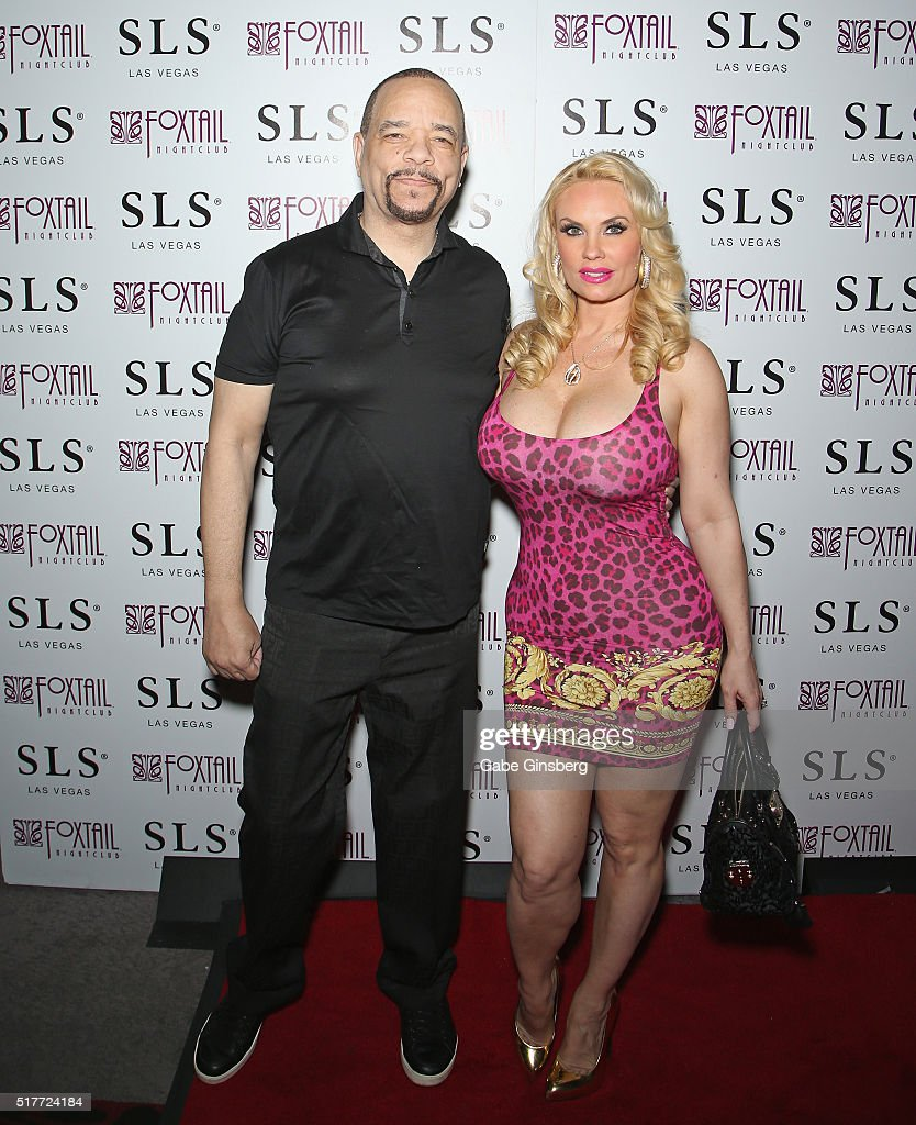 Ice t l and his wife model nicole coco austin attend austin s