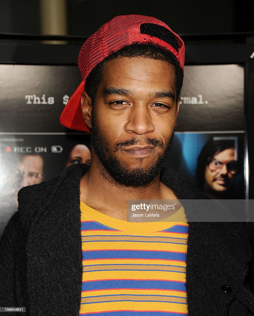 Actor/rapper Kid Cudi attends the premiere of 'A Haunted House' at ArcLight Hollywood on January 3, 2013 in Hollywood, California.