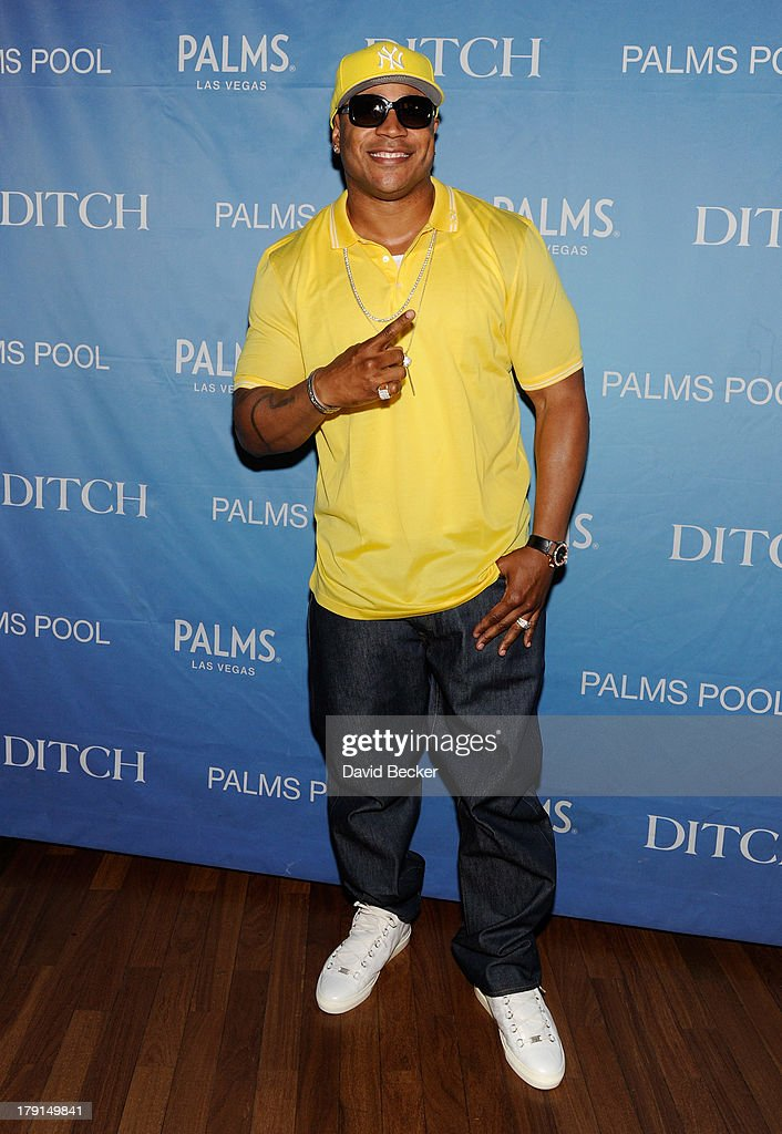 Actor/rapper LL Cool J arrives at 'Ditch Saturdays' at the Palms Pool & Bungalows at The Palms Casino Resort on August 31, 2013 in Las Vegas, Nevada.