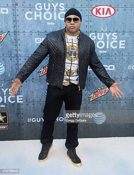 Actor/rapper LL Cool J arrives at Spike TV's 'Guys Choice 2015' at Sony Pictures Studios on June 6 2015 in Culver City California