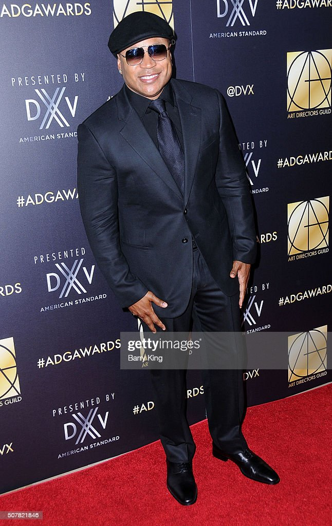 Actor/rapper LL Cool J attends Art Directors Guild 20th Annual Excellence in Production Awards at The Beverly Hilton Hotel on January 31 2016 in...