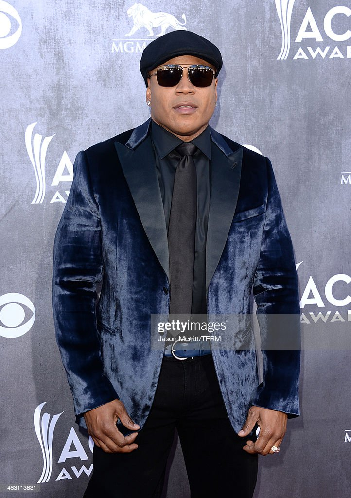 Actor/Rapper LL Cool J attends the 49th Annual Academy Of Country Music Awards at the MGM Grand Garden Arena on April 6, 2014 in Las Vegas, Nevada.
