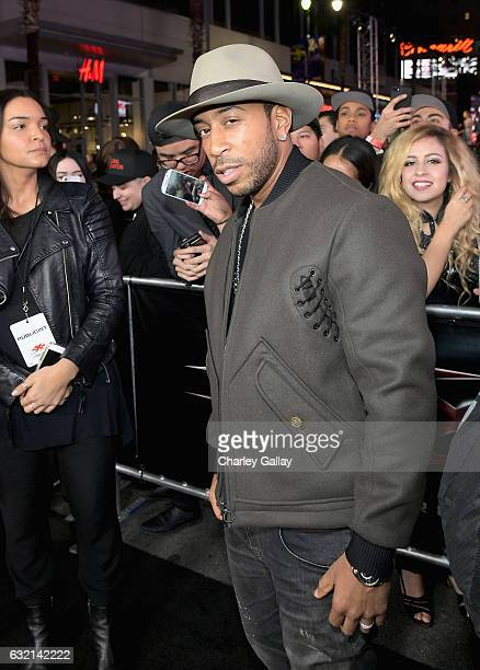 Actor/rapper Ludacris attends the LA Premiere of the Paramount Pictures title 'xXx Return of Xander Cage' at TCL Chinese Theatre IMAX on January 19...