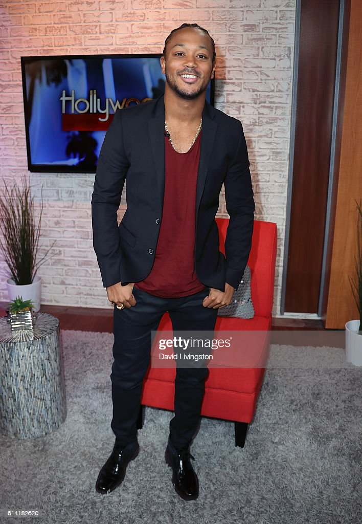 Actor/rapper Romeo Miller visits Hollywood Today Live at W Hollywood on October 12, 2016 in Hollywood, California.