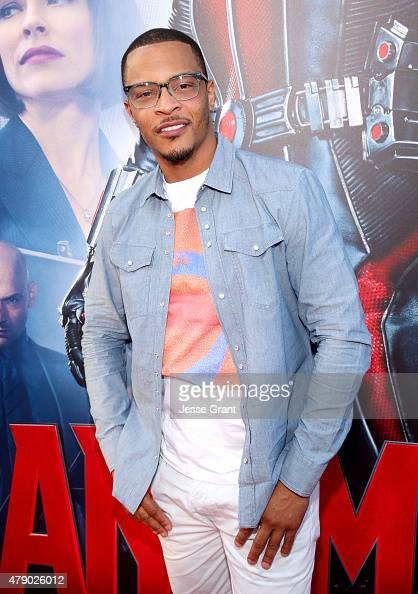 Actor/rapper Tip 'TI' Harris attends the world premiere of Marvel's 'AntMan' at The Dolby Theatre on June 29 2015 in Los Angeles California