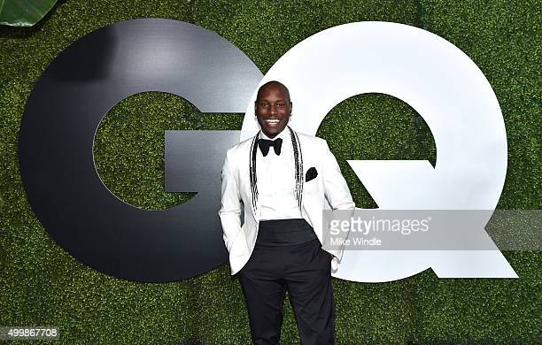 Actor/rapper Tyrese Gibson attends the GQ 20th Anniversary Men Of The Year Party at Chateau Marmont on December 3 2015 in Los Angeles California