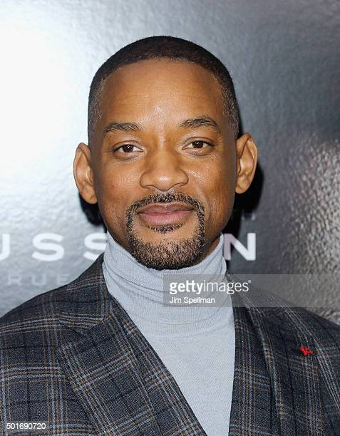 Actor/rapper Will Smith attends the 'Concussion' New York premiere at AMC Loews Lincoln Square on December 16 2015 in New York City