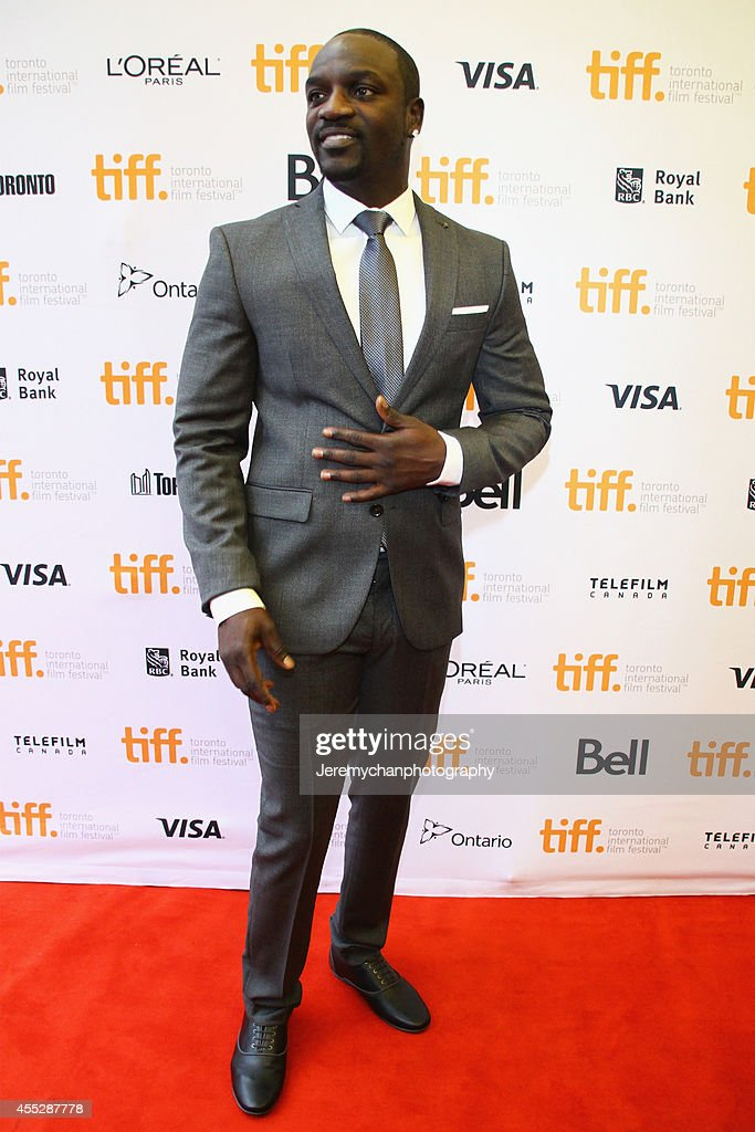 Actor/recording artist Aliaune Thiam aka Akon arrives at the 'American Heist' Premiere during the 2014 Toronto International Film Festival held at the Princess of Wales Theatre on September 11, 2014 in Toronto, Canada.