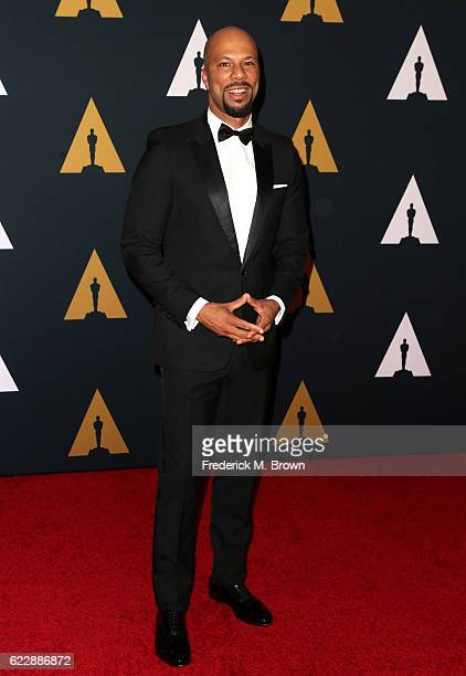 Actor/recording artist Common attends the Academy of Motion Picture Arts and Sciences' 8th annual Governors Awards at The Ray Dolby Ballroom at...