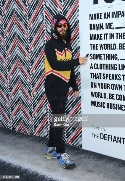 Actor/recording artist Jared Leto attends the Premiere of HBO's 'The Defiant Ones' at Paramount Theatre on June 22 2017 in Hollywood California