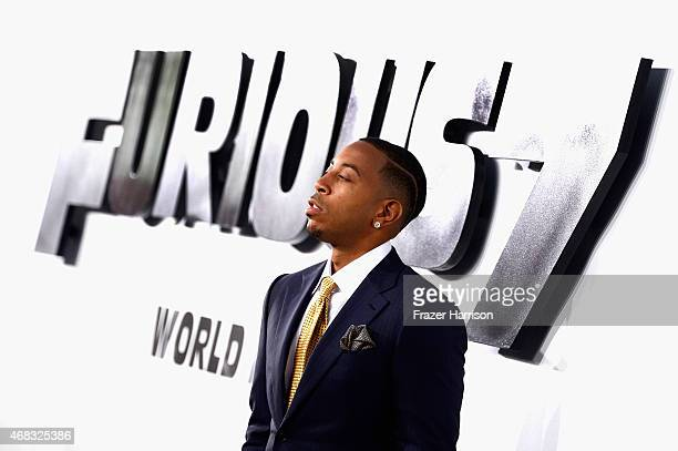 Actor/recording artist Ludacris arrives at the Premiere Of Universal Pictures' 'Furious 7' at TCL Chinese Theatre on April 1 2015 in Hollywood...