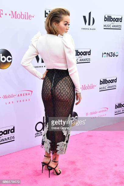 Actorrecording artist Rita Ora attends the 2017 Billboard Music Awards at TMobile Arena on May 21 2017 in Las Vegas Nevada