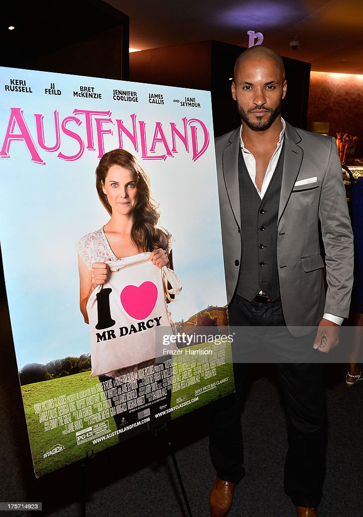 ActorRicky Whittle attends TheWrap's Indie Series Screening of 'Austenland' at the Landmark Theater on August 6, 2013 in Los Angeles, California.