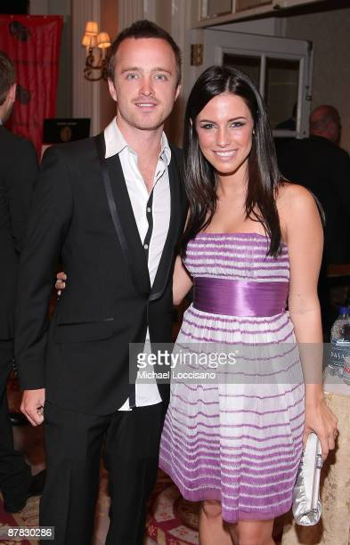 Actors Aaron Paul and Jessica Lowndes attend the 68th annual George Foster Peabody Awards at The Waldorf=Astoria May 18 2009 in New York City