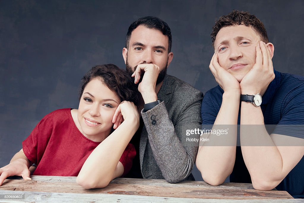 Actors Actors Tatiana Maslany and Tom Cullen with director Joey Klein, 'The Other Half', 'The Other Half' are photographed for The Wrap on March 13, 2016 in Austin, Texas.