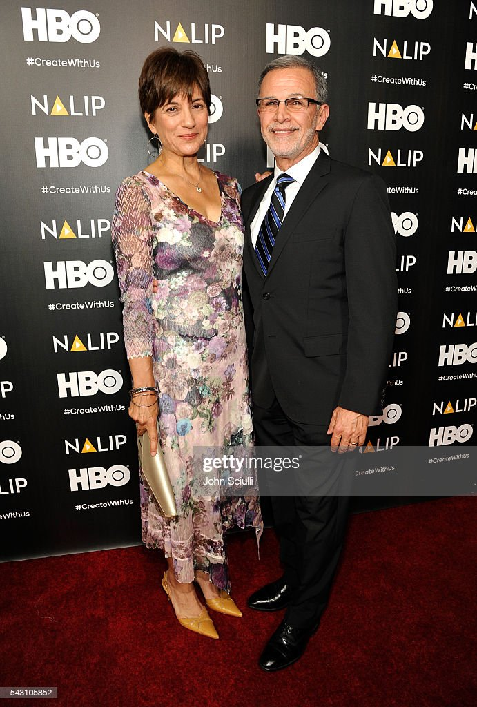 Actors Ada Maris and Tony Plana attend the NALIP 2016 Latino Media Awards at Dolby Theatre on June 25, 2016 in Hollywood, California.