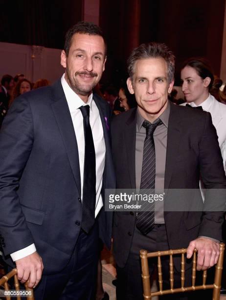 Actors Adam Sandler and Ben Stiller attend The 2017 IFP Gotham Independent Film Awards cosponsored by Landmark Vineyards at Cipriani Wall Street on...