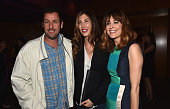 Actors Adam Sandler Jackie Sandler and Rosemarie DeWitt attend the after party for the premiere of Paramount Pictures' 'Men Women Children' at The...