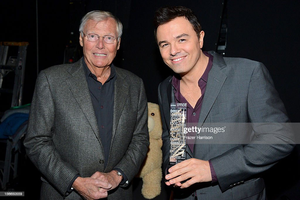 Actors Adam West and Seth MacFarlane attend Variety's 3rd annual Power of Comedy event presented by Bing benefiting the Noreen Fraser Foundation held at Avalon on November 17, 2012 in Hollywood, California.