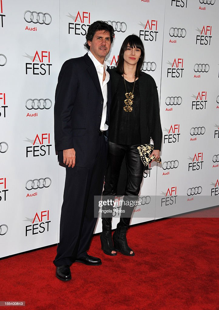 Actors Adolfo Jimenez Castro and Natalia Acevedo arrive at the 'Life Of Pi' premiere during AFI Fest 2012 presented by Audi at Grauman's Chinese Theatre on November 2, 2012 in Hollywood, California.