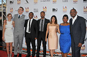 Actors Ahna O'Reilly Kevin Durand Director Ryan Coogler actors Michael B Jordan Melonie Diaz Octavia Spencer and producer Forest Whitaker arrive at...
